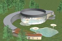 Therme park Velké Losiny - vizualizace